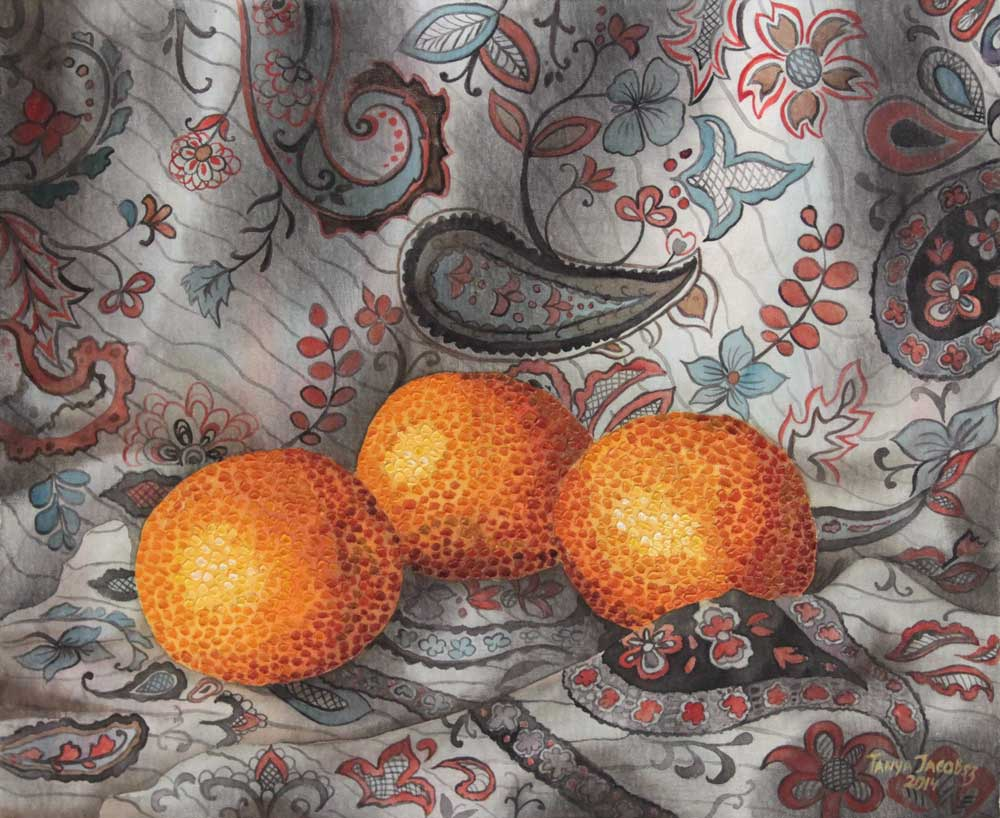 Three Oranges