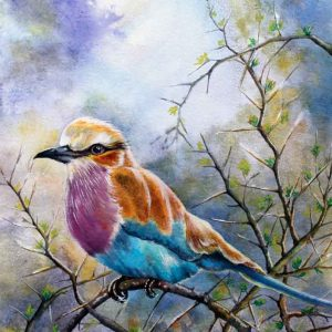Watercolor painting by Tanya Jacobsz