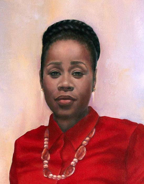 Nelisiwe Mdlala. Oil on canvas