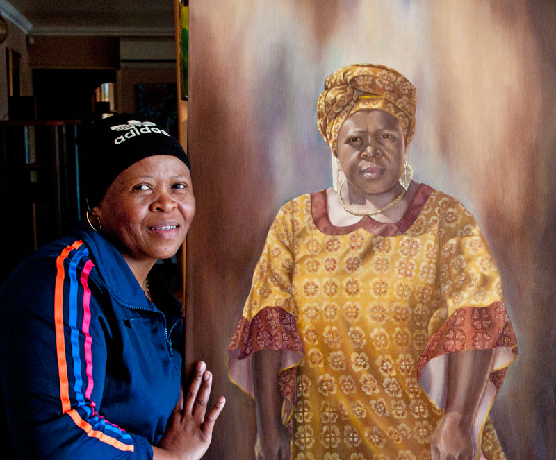 Nthabiseng and portrait
