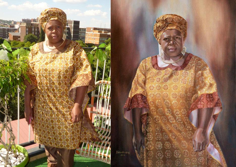 Nthabiseng. Portrait details