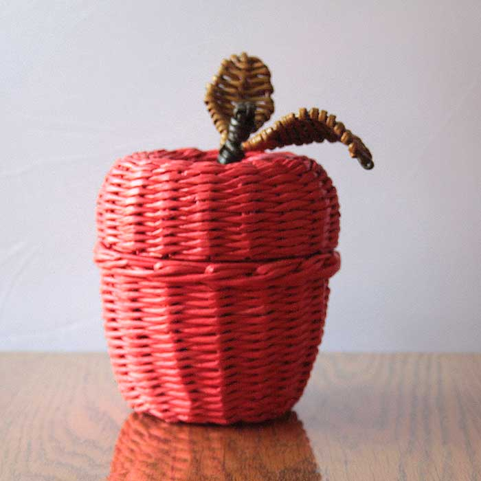 apple candy vase