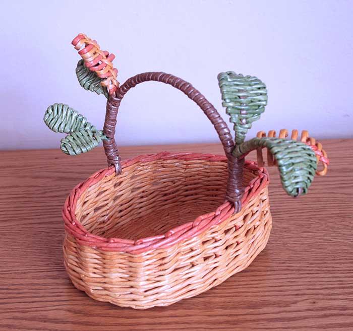 Wicker Candy basket