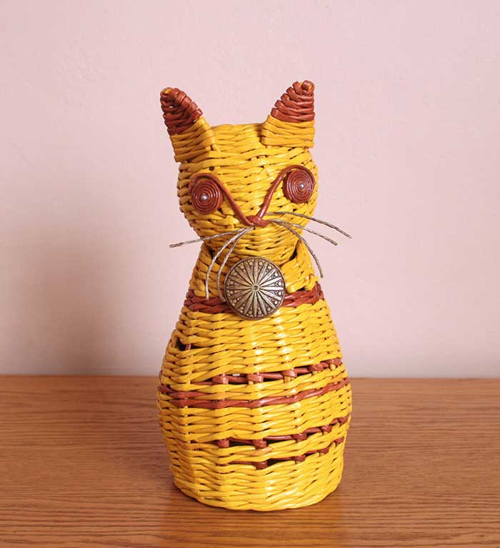 wicker mystical cat
