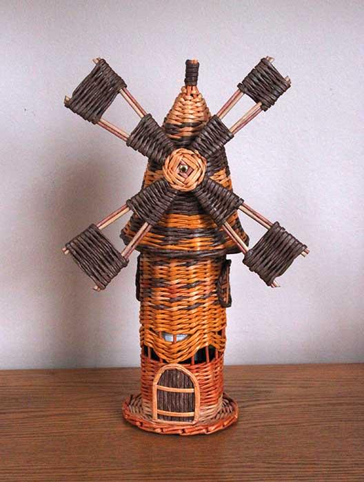 windmill wine holder