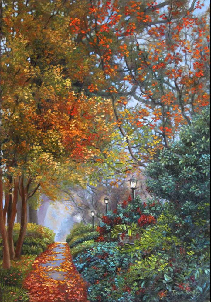 An Enchanted Evening Alley